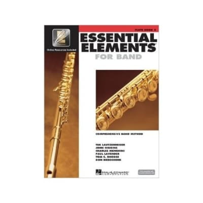 Essential Elements For Band Method Book 2 - Oboe
