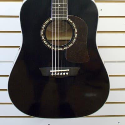 Washburn Heritage Series D10S Acoustic Guitar B-Stock *Read Description* *Black* for sale