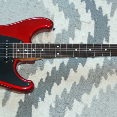 Ibanez Roadstar II Strat RS 440 /420 SSH All Parts Tremolo w/ Video Candy Apple Red for sale