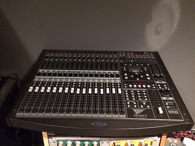 soundcraft spirit digital 328 mixer mixing board flying reverb. Black Bedroom Furniture Sets. Home Design Ideas