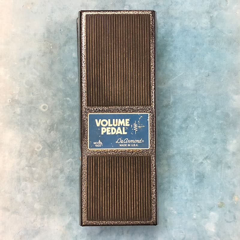 DeArmond 1602 Vintage Volume Pedal