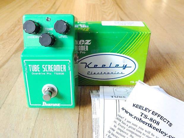 tube screamer ts808