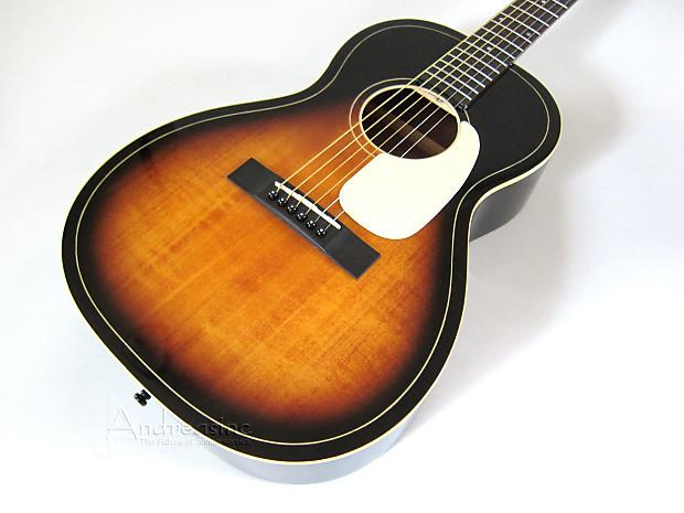 guitare acoustique silvertone 604 american vintage sunburst