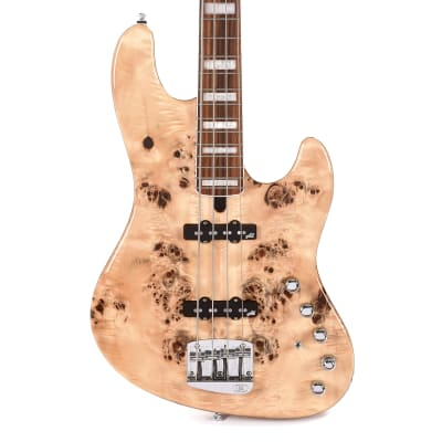 Mayones Jabba Custom 4-String Eye Poplar Natural Gloss (Serial #JAB1911555) for sale