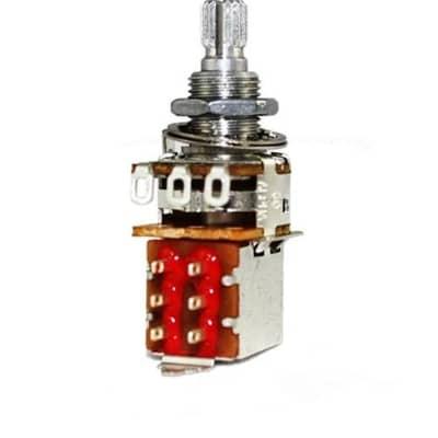 Allparts 500K DPDT Push Pull Audio Pot