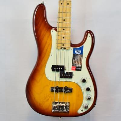 Fender American Elite Precision Bass Tobacco Burst 2017