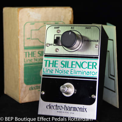Electro-Harmonix  The Silencer - Line Noise Eliminator 1978