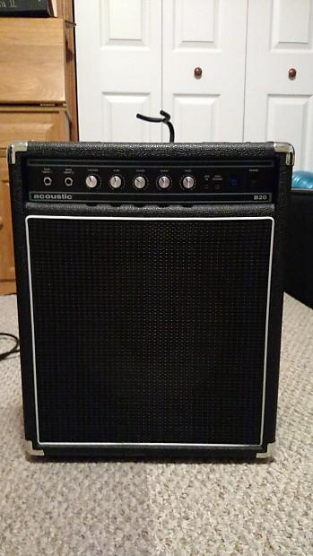 Acoustic B20 Bass Amp 20w 1x12 | Ryan's Gear Garage
