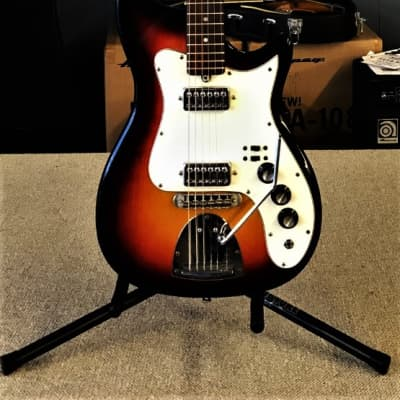 Kapa  Continental - Made in USA - 1960's - 3 Tone Sunburst for sale