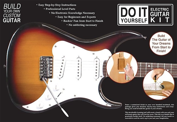 Axl do it yourself electric guitar kit reverb axl do it yourself electric guitar kit solutioingenieria Choice Image