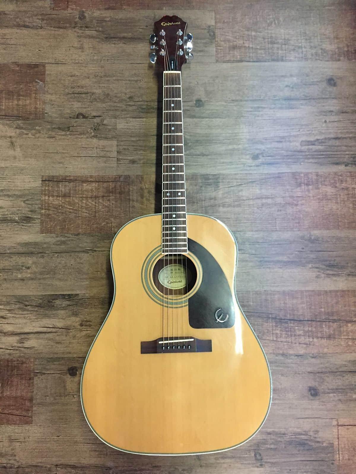 Epiphone Aj 15 Na Advanced Jumbo Acoustic Guitar Reverb