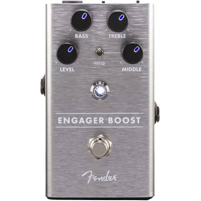 Fender Engager Boost Pedal - Clean Boost. Brand New. 2019. Fast/Free Shipping. GUSA! for sale