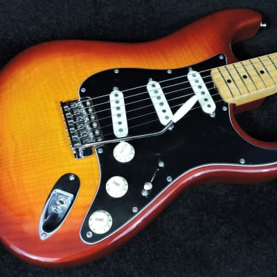 Fender American Original Rarities Collection Stratocaster Flame Ash Top - Red Burst for sale