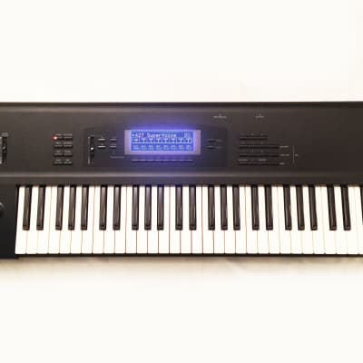 KORG 01/W FD with SMF Synthesizer Workstation Made in JAPAN. SERVICED. Works Perfect !.