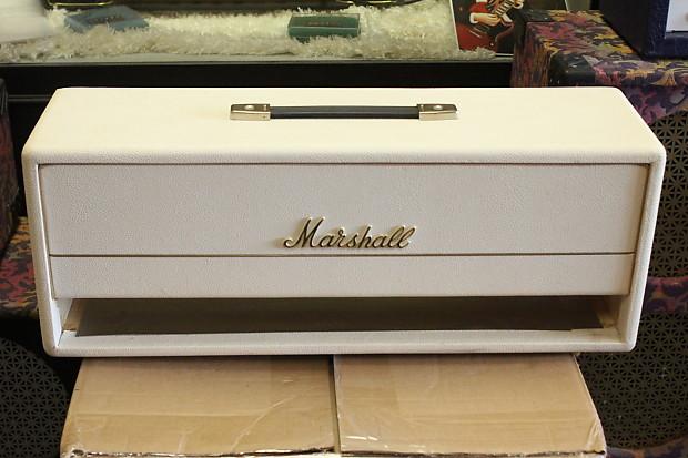 Empty Box White Marshall Guitar Amplifier Head, Custom ...