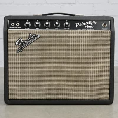 1965 Fender Princeton Blackface AA964 Tube Combo Guitar Amplifier Amp #40405 for sale