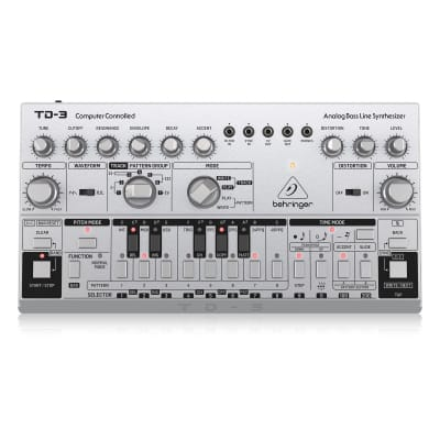 Behringer TD-3-SR Analog Bass Line Synth Silver