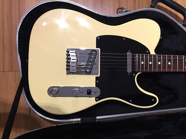 Charming idea American standard telecaster vintage white reserve, neither