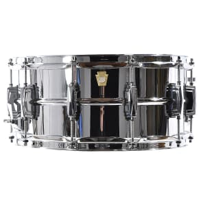 "Ludwig LB402B Brass Edition Supraphonic 6.5x14"" Snare Drum"