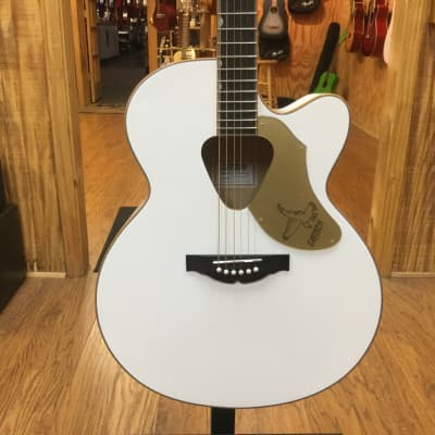 Gretsch G5022CWFE Rancher Falcon Jumbo with Fishman Pickup System White for sale