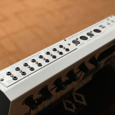 Social Entropy ENGINE SEQUENCER w/ CV expansion White and Blue