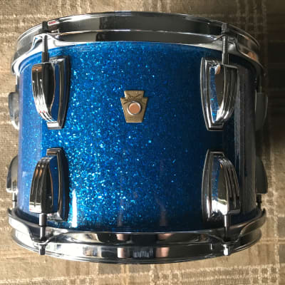 Ludwig Ludwig LEGACY MAPLE 8x12  Blue Sparkle (RARE Large Lugs)
