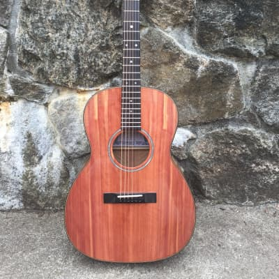 Goodman Handmade 12 Fret Triple 0  -Aromatic Red Cedar/ Quilted maple for sale