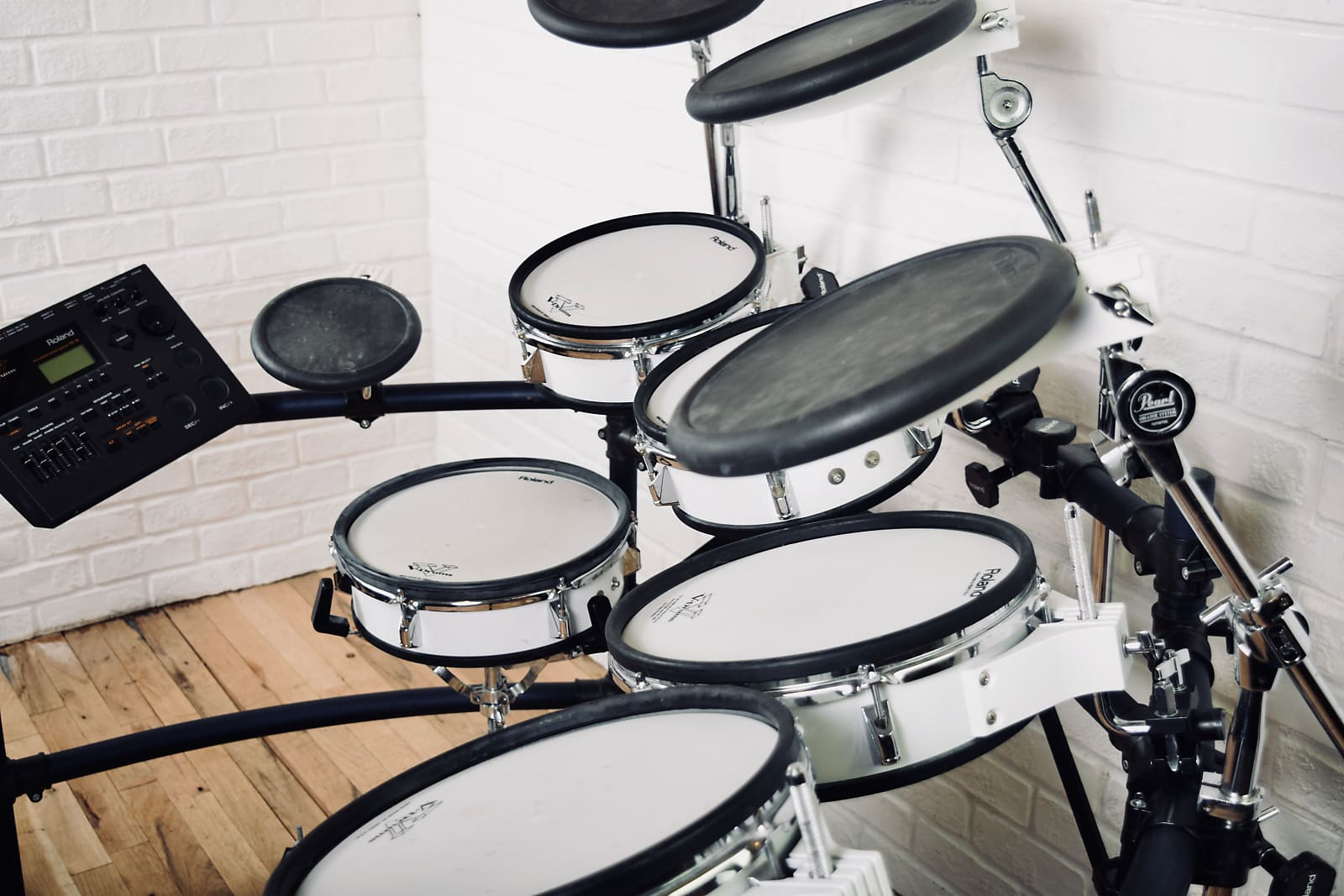 Roland TD-10 electronic drum set kit Excellent cond -TD10 V-drums for sale