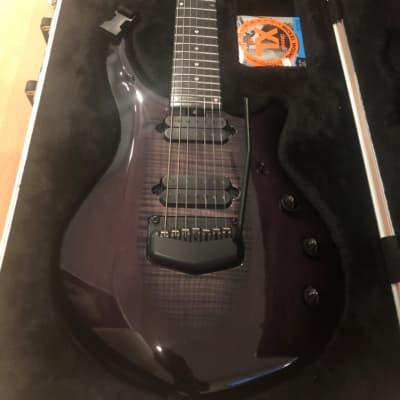 Ernie Ball Music Man John Petrucci Monarchy Majesty 7 Black Knight for sale