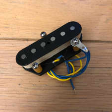 Fender 72 Telecaster Custom Bridge Pickup Black Classic Series Tele Thinline Vintage