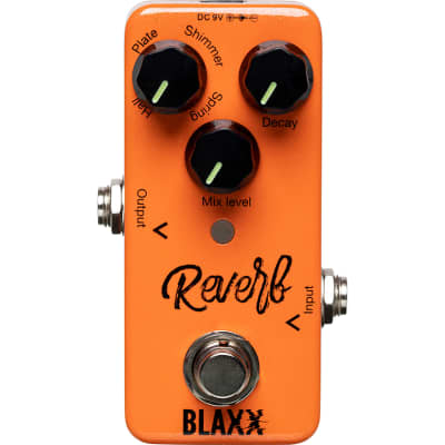 Stagg Blaxx Reverb effects pedal for sale