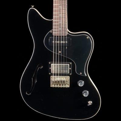 PJD St John Custom in Black w/ Natural Back Guitar for sale
