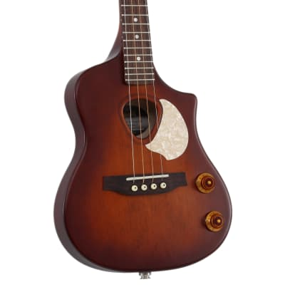 Seagull Uke Steel String SG Burst EQ A/E Soprano Ukulele w/Gig Bag for sale
