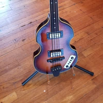 2000's Jay Turser Violin Bass Fretless - BIG Upgrades for sale