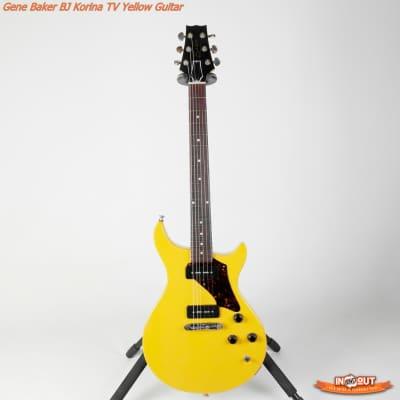 Gene Baker  BJ Korina TV Yellow Guitar