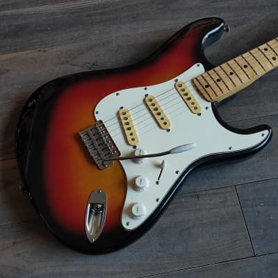 1970's Fresher Straighter FS-331 Stratocaster Sunburst (Made in Japan) for sale