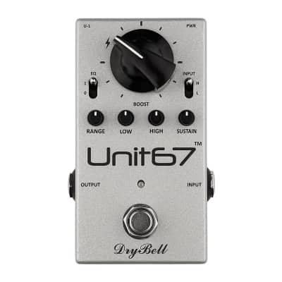 DryBell Unit67 Boost, EQ & Compressor Pedal for sale