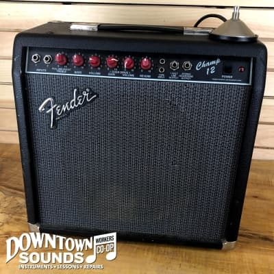 Fender Champ 12 (Red Knob) 12-Watt Guitar Combo for sale