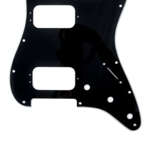 Fender Stratocaster HH 11-Hole Pickguard 3-Ply