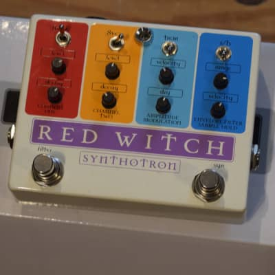 Red Witch Synthotron Synthesizer