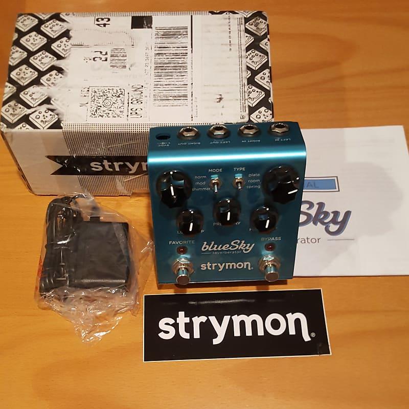 strymon bluesky blue sky reverb reverberator pedal addict reverb. Black Bedroom Furniture Sets. Home Design Ideas