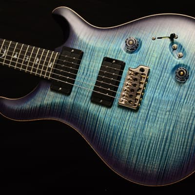 NEW Paul Reed Smith Wood Library Custom 24-08 Satin in Brian's Limited Aquableux Purple Burst! for sale