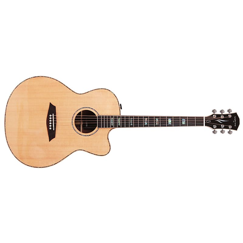 Sire A7 NT Sungha Jung Acoustic Electric Guitar, Natural
