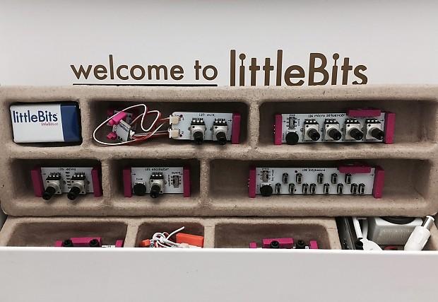 korg littlebits synth kit analog modular synthesizer kit reverb. Black Bedroom Furniture Sets. Home Design Ideas