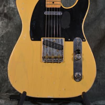 Fender Custom Shop '51 Nocaster Relic Telecaster Butterscotch Blackguard W Case FAST Shipping for sale