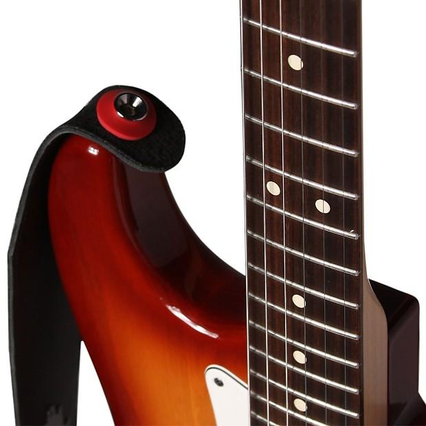 guitar savers premium strap locks 3 pair red reverb. Black Bedroom Furniture Sets. Home Design Ideas