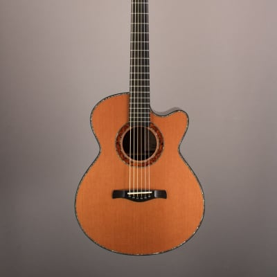 2007 True North Model 2 Grand Auditorium, Brazilian Rosewood/Lucky Strike Redwood for sale