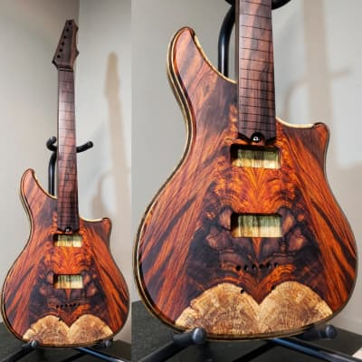 Barlow Guitars Falcon 2019 Cocobolo / Mun Ebony for sale