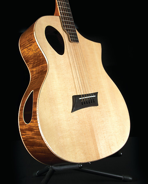 Michael Kelly Mktpe Triad Port Offset Soundhole Cutaway With Reverb