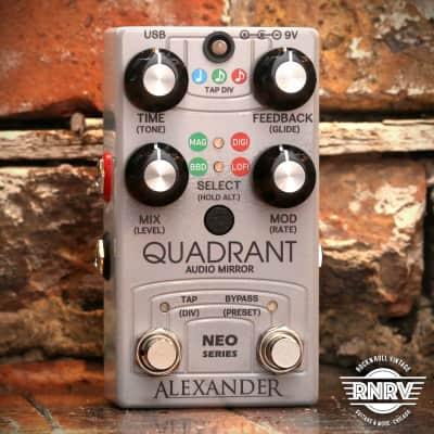 Alexander Neo Series Quadrant Audio Mirror